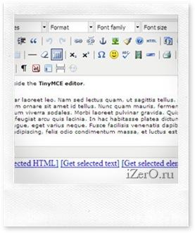 Устанавливаем WYSIWYG редактор. TinyMCE